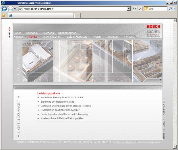Bosch kuchen design 1030 wien