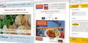 Cover: FoodY.at Restaurant-Webseiten